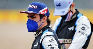 Alonso returned with 2022 'very much' in mind