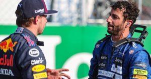 Ricciardo jokes: Max has agreed not to fight me hard