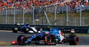 Ocon predicts 'chaotic first lap' at Zandvoort