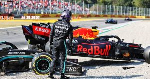 Hamilton would have checked on Verstappen at Monza
