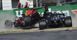 Hamilton, Verstappen 'both went too far' at Monza