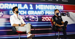 Wolff finds it 'worrying' Horner enjoys winding him up