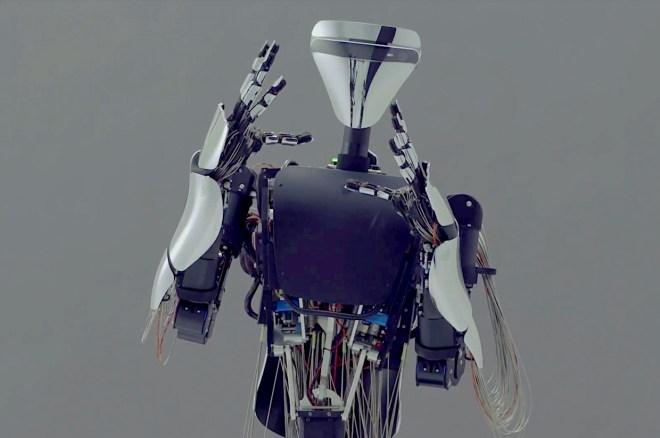 Meltin's dexterous teleloperated humanoid robot