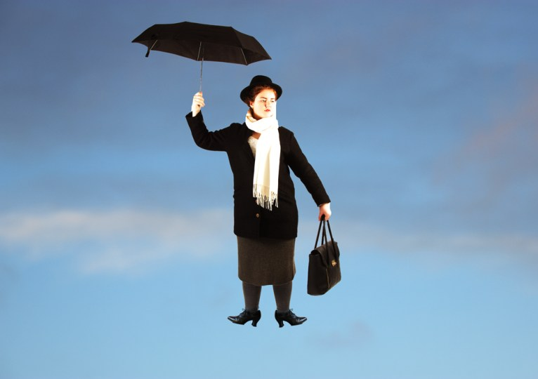 Mary Poppins. Foto: Madeleine Stuedal