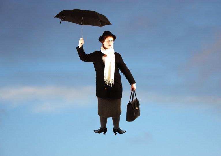 Mary Poppins. Foto: Madeleine Stuedal
