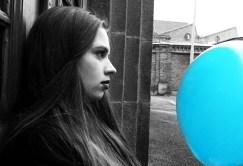 Miriam - blå balong