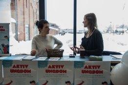 Aktiv ungdom. Foto: Louise Skjelbreid Andersen