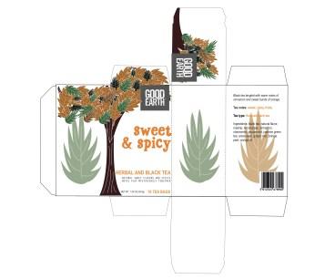Solveig Fuglesang: Sweet & Spicy-emballasje