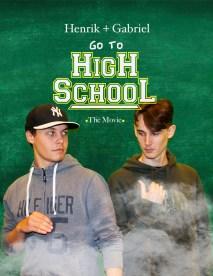 Henrik and Gabb Back to High school