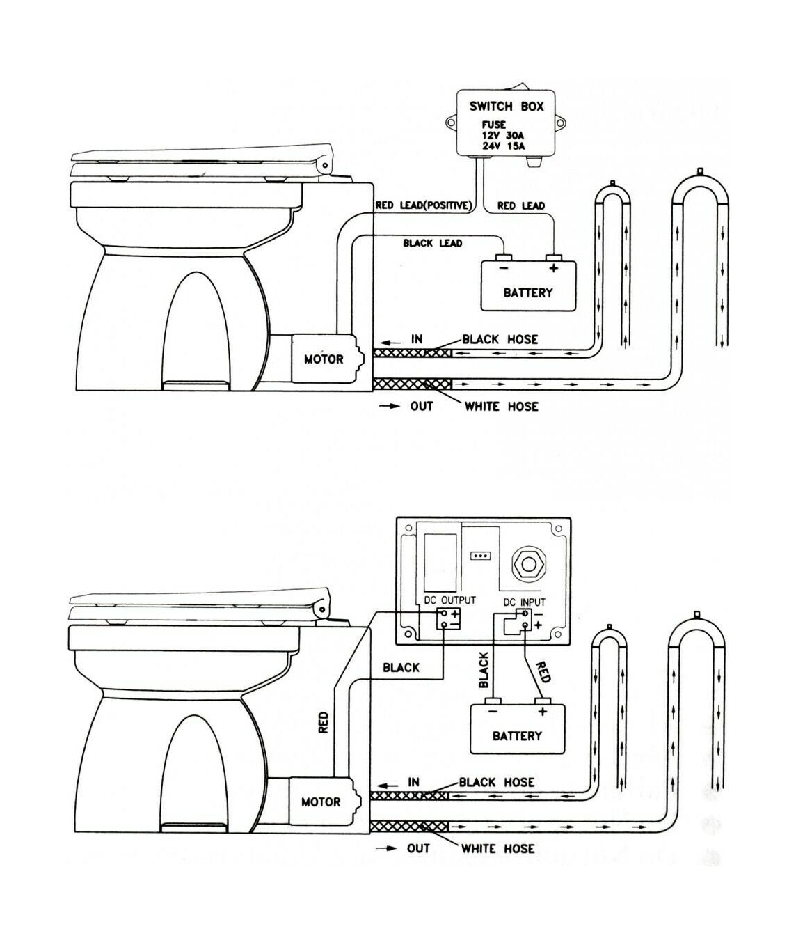 Toilet 12v Electric Pump Barcode A12