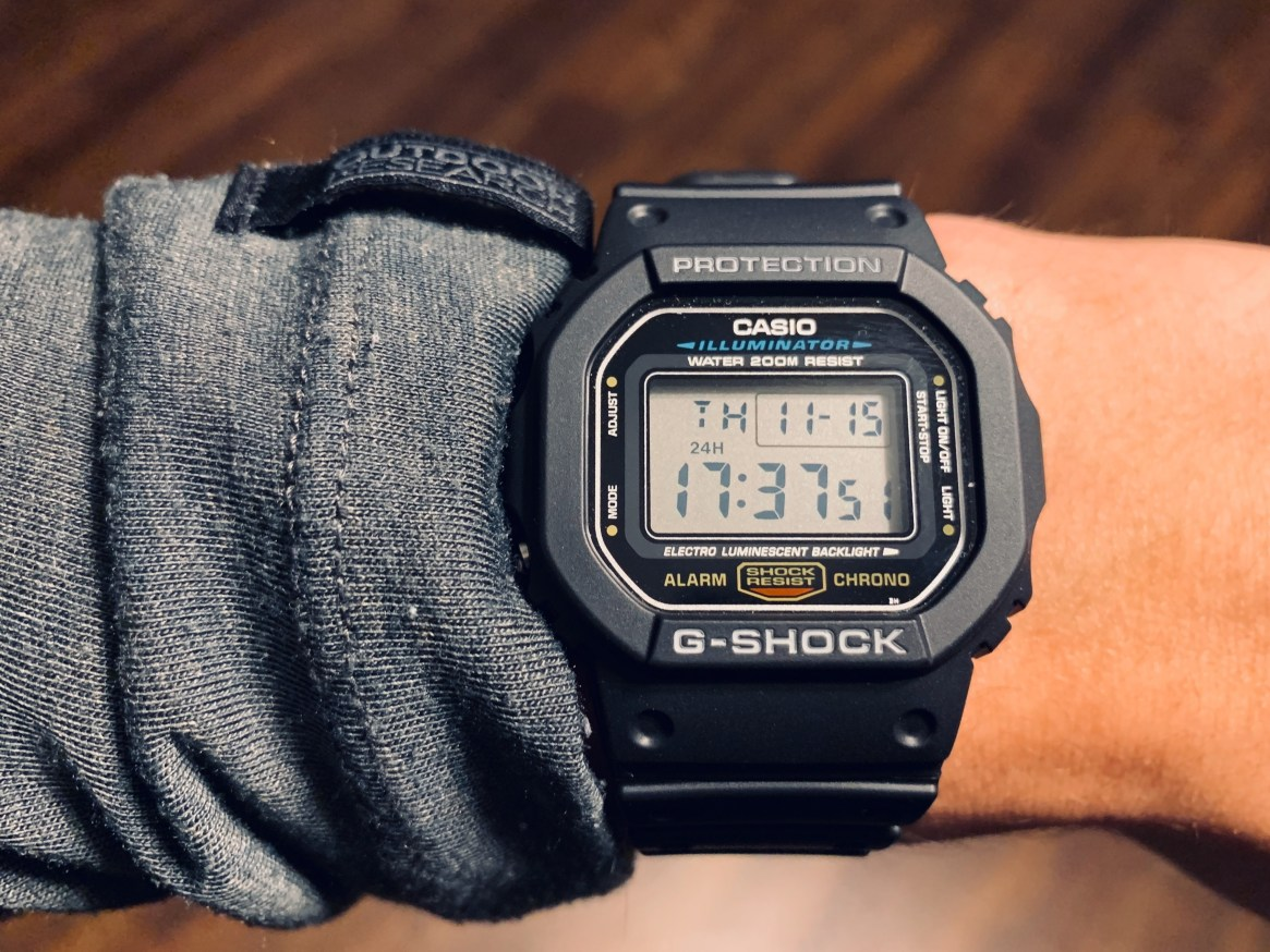 Casio G-SHOCK DW5600E-1V — The Classic at a low price – The Brooks ...