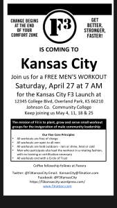 Kansas City F3 Launch is Coming Soon!