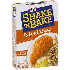 Shake 'N Bake Extra Crispy Seasoned Coating Mix - 5.5oz : Target