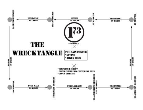 Wrecktangle Graphic