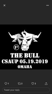 THE BULL CSAUP BACKBLAST: Turning the Bull into Glue