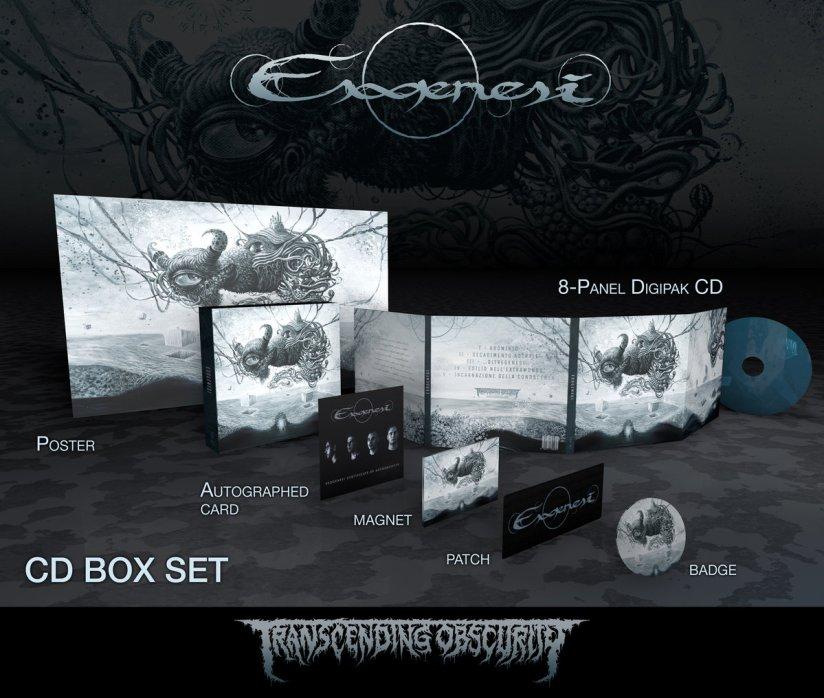 ESOGENESI (Italy) – Self - titled (Death / Doom Metal) Autographed Limited  Edition CD Box Set
