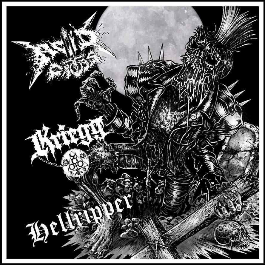 Image result for acid cross kriegg hellripper split