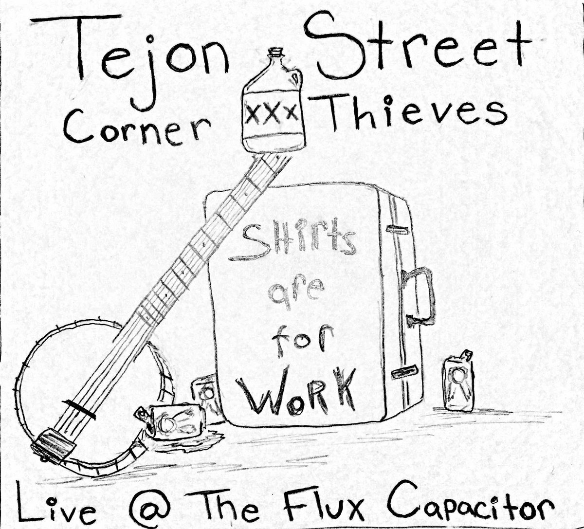 Corner Thieves Live Flux Feat Shine Delphi And Douglas