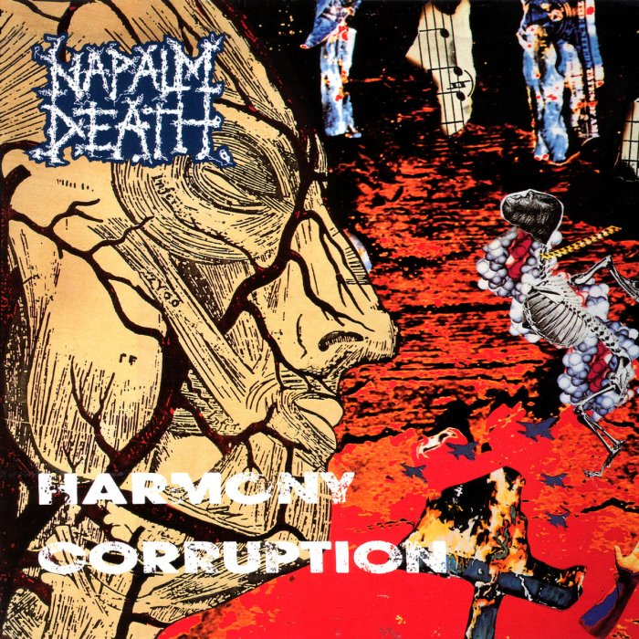 Image result for Napalm Death – Harmony Corruption