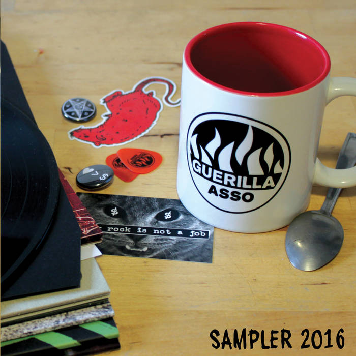 SAMPLER 2016 cover art