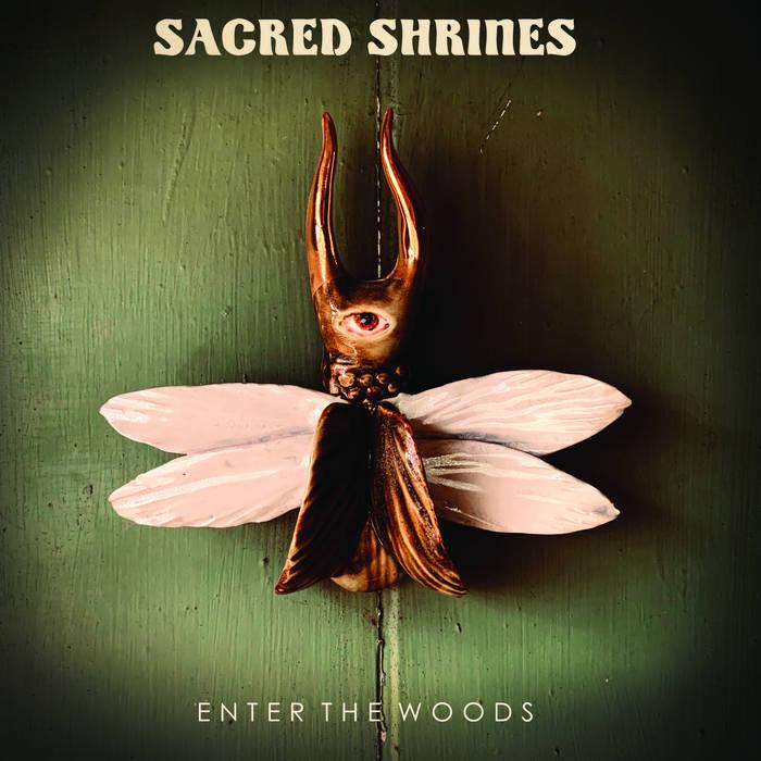 "Sacred Shrines ""Enter the Woods"" Album Cover"