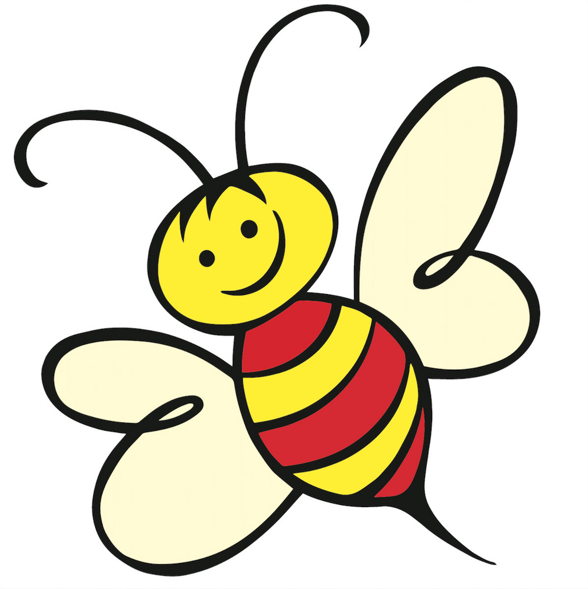 Buzzy Bee Cartoon