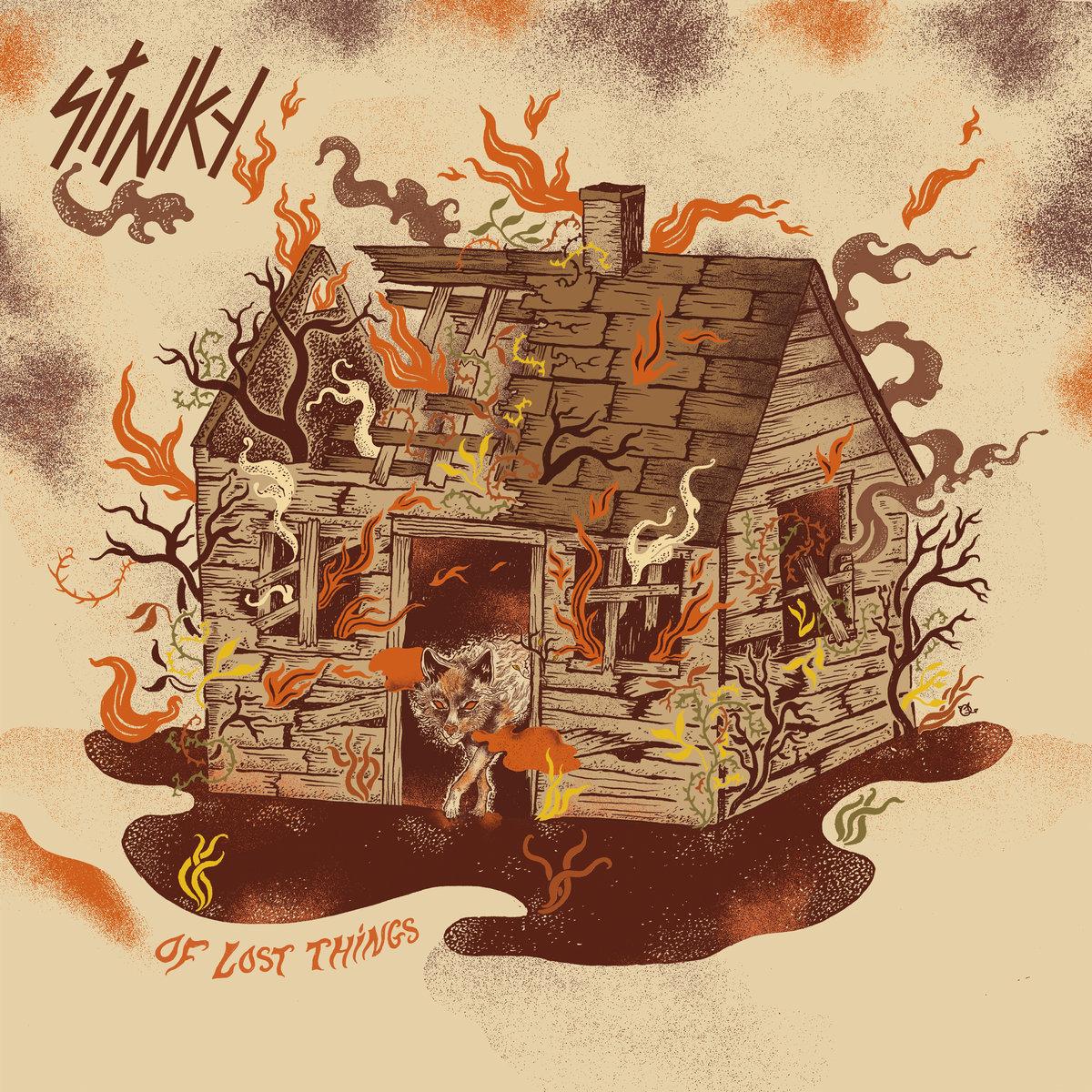 Pochette de l'album Of Lost Things de Stinky
