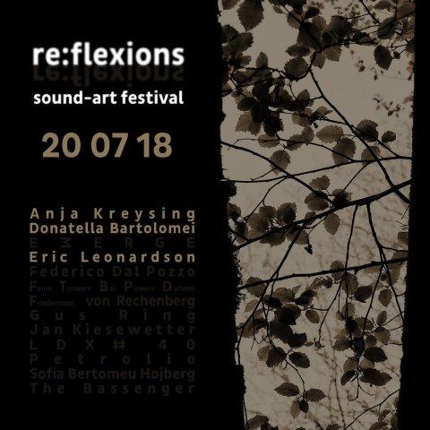 Eric Leonardson & Anja Kreysing & Donatella Bartolomei – live @ re:flexions sound-art festival