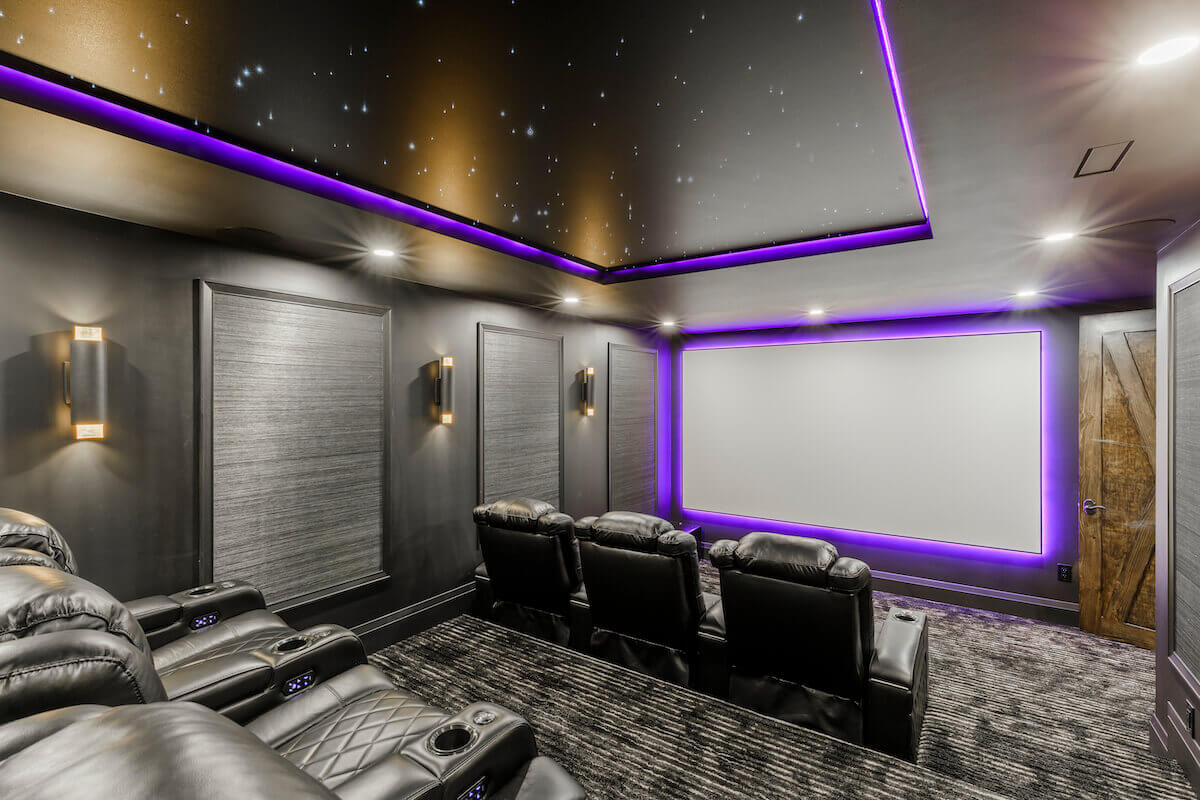 11+ Home Theater Ideas For Basement Pics