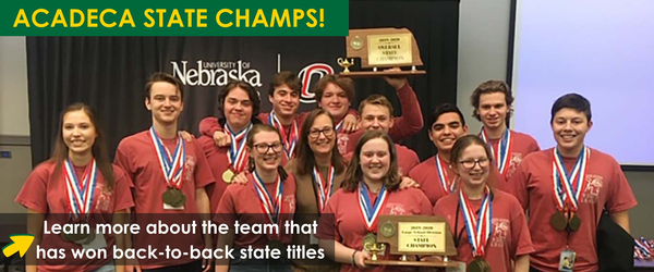 Read about AcaDeca winning their second straight title