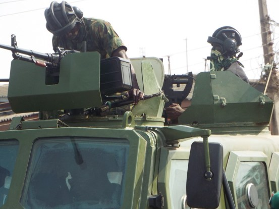 Troops captured the city of Borno – after a 48-hour ultimatum from the army chief