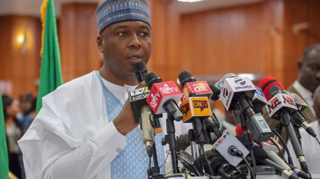 Image result for Saraki: It's time to replace this outdated government