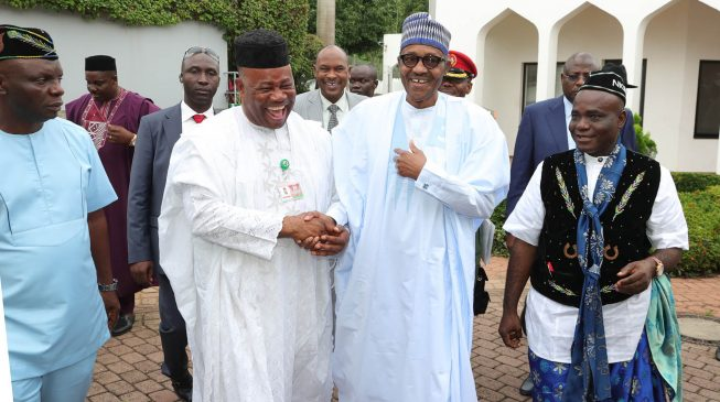 Image result for Akpabio: PDP lost the presidential election the day I joined APC