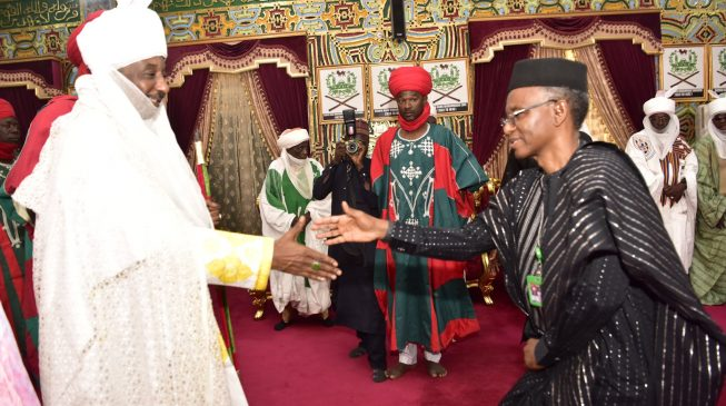 El-Rufai appoints as Sanusi vice-chairman of Kaduna Investment Promotion Agency