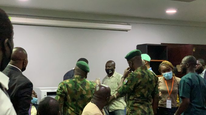 Army commander: Soldiers were attacked at Lekki tollgate but they still offered water to protesters