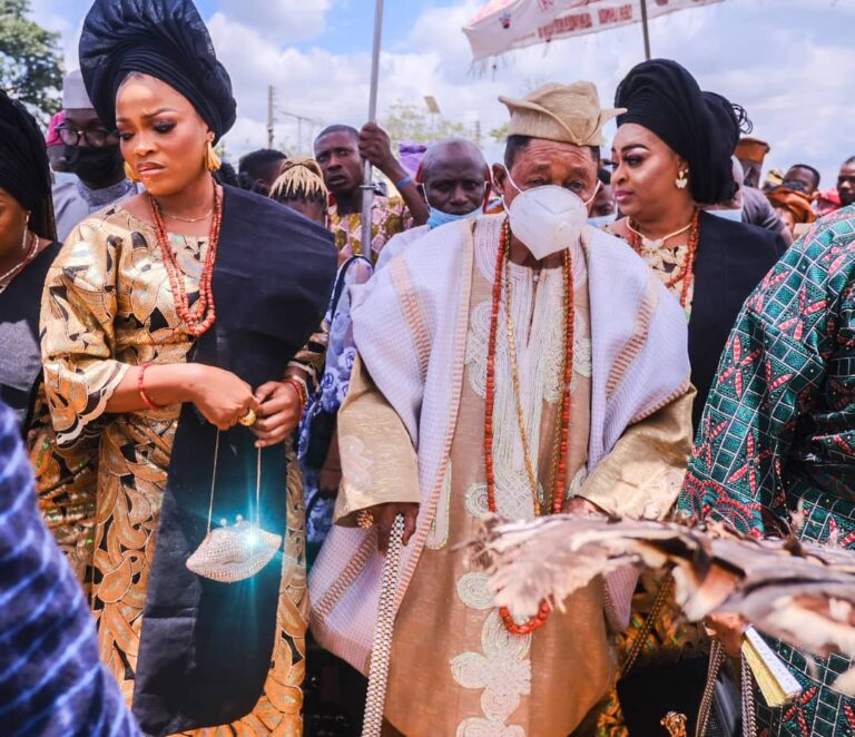 Alaafin of Oyo and his Family