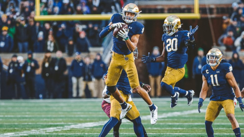 Notre Dame Football Has a 'Freak Athlete' in Kyle Hamilton | Irish Sports  Daily