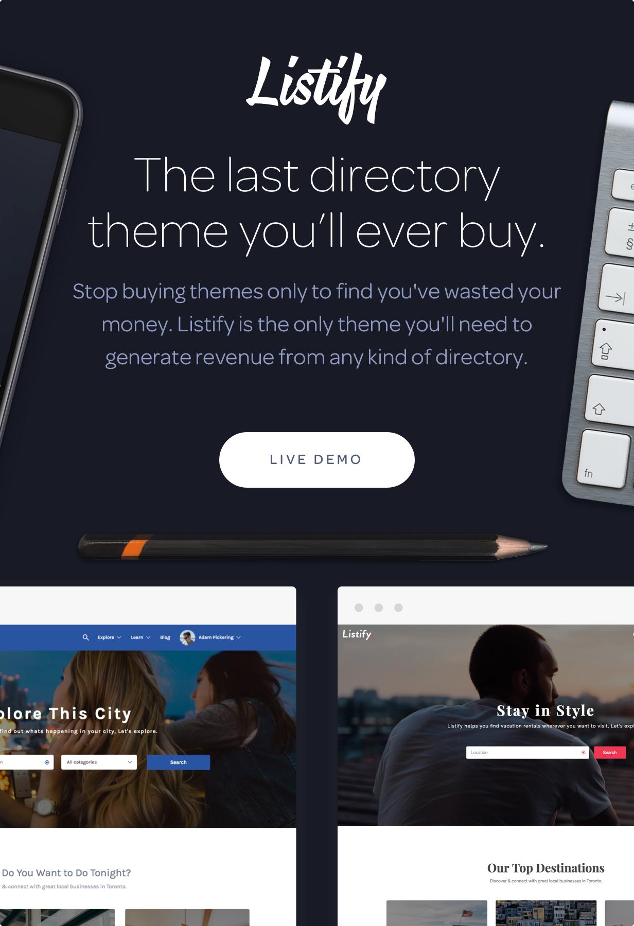 Listify - Directory WordPress Theme - 5