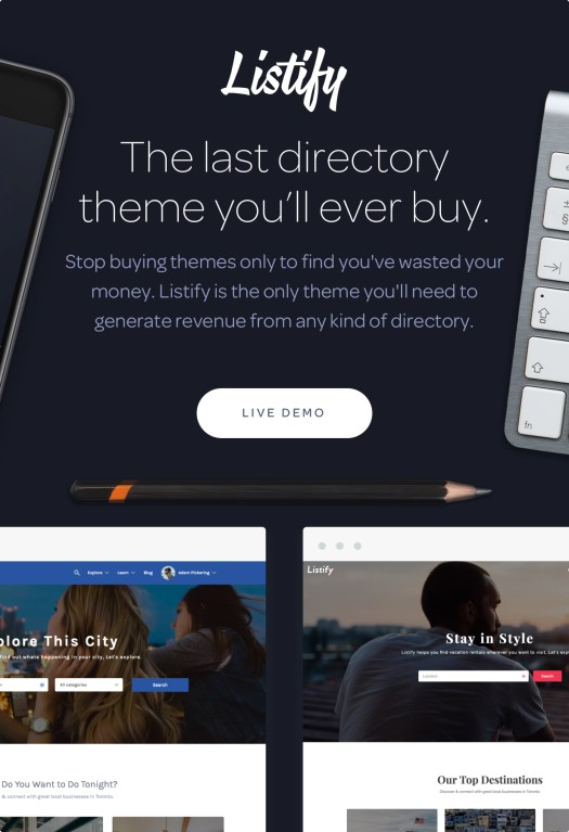 Listify - Directory WordPress Theme - 5