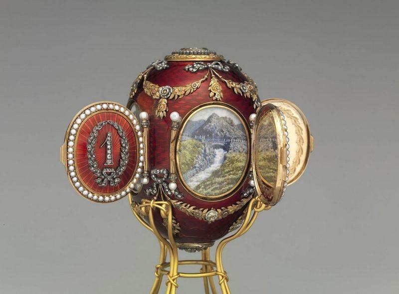 The Gatchina Palace egg, 1901.