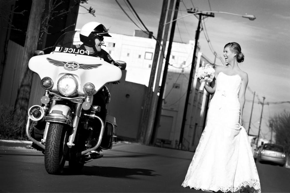 Motorcycle Policebride By Gary F8studio Dallas