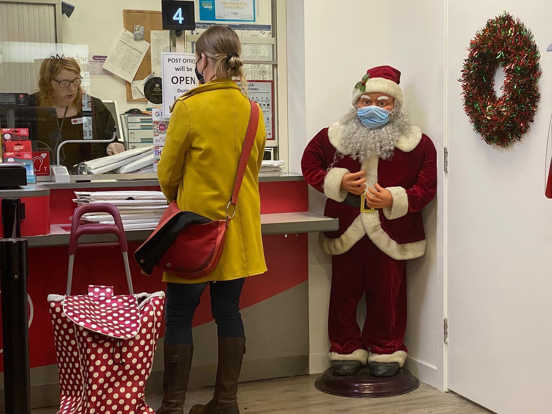 Santa distancing