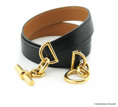 Hermes Gold Chaine d' Ancre Chain Belt