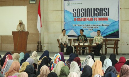 Unit Bilingual FAB Sosialisasikan Program Bilingual Ke Mahasiswa