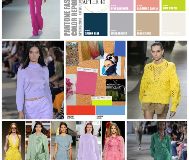 Spring Fashion Colors To Whet Your Appetite In