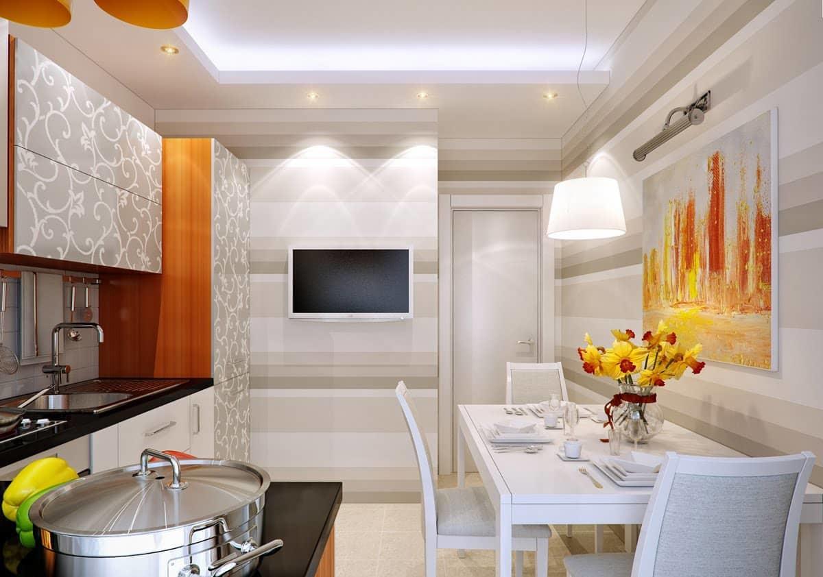mini tv dans la cuisine aspects de choix