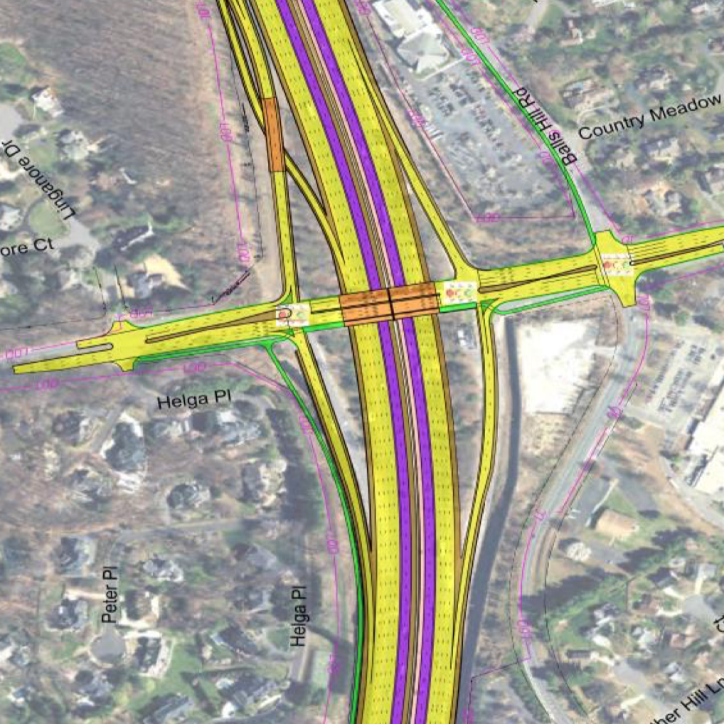 I 495 Express Lane Extension at GT Pike - Route 7 Widening Project