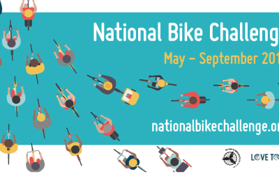 National Bike Challenge Results for May