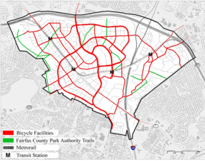 Screen Shot 2019 06 14 at 3.37.42 PM - Tysons  Conceptional Bike Map
