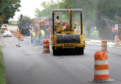 avenue repaved 300x209 - County Paving and Restriping Meetings Scheduled